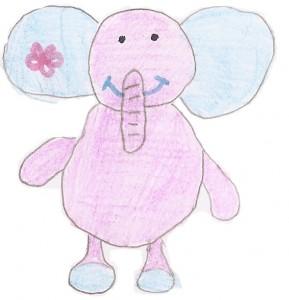 Annie's elephant pinky